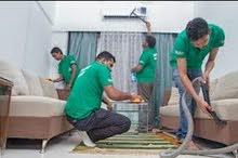 المناره لخدمات التنظيف ومكافحه الحشرات تنظيف الفلل والشقق