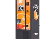 Orange Juice Vending Machine مكائن البيع الذاتي لعصير البرتقال