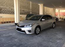 Toyota Corolla 2015 (Silver)