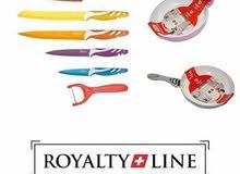 طقم سكاكين وطاستين سويسرى للبيع