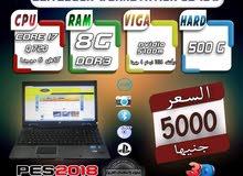 HP ELITEBOOK WORKSTATION 8540W CORE I7 رمات 8 جيجا هارد 500.للفوتوشوب والجيمز