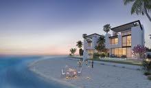 فيلل على البحر مباشره على 3 طوابق وحديقه بسعر 2.5 مليون درهم وبالتقسيط المريح