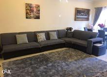 غرفة جلوس+غرفة سفرة+طاولة تلفزيون