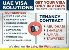 Office Contract and Family Visa