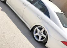 White Mercedes Benz CLS 55 AMG 2006 for sale