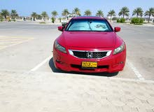 Honda Accord 2008 Red 2 door Good Condition
