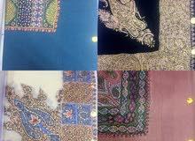 مصار كشميرية ترمة خياطة يد بألوان جميلة
