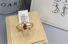 خاتم الماس مرصع بحجر جرانتي