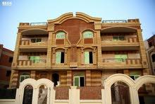لجادين شقة دوبلكس ارضي مرتفع +دور اول للبيع بالتقسيط في الشيخ زايد