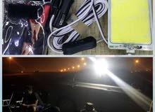 كشافات LED للرحلات والجلسات الخارجيه كشافات 360 للجلسات الخارجيه والرحلات..اضاءه قويه يثبت
