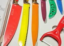 Swiss exclusive collection 7 pcs knife set