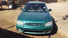 Hyundai Accent 2006 For sale - Green color