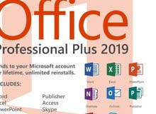 Microsoft Office Professional  Plus 2019 & Microsoft Office windows 10 & Netflix