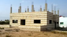 بيت للبيع في منطقة الحرش خلف مخفر حوشا