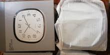 ساعة حائط هوم سنتر Home Center يشمل توصيل لأكثر من حبة