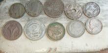 عملات قديمة مغربية واجنبية من مهتم للبيع