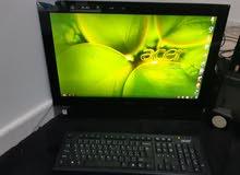 جهاز مكتبي براندنيم آيسر شبه جديد .. للبيع !!