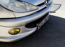 Peugeot 206 2002 For sale - Grey color