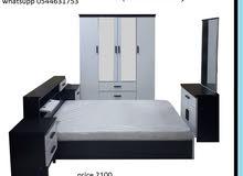 مجموعة أثاث غرف النوم كل الألوان المتاحة الأسود البني الأبيض