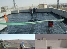 كشف تسربات المياه مع عزل الاسطح والخزانات