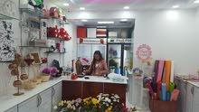 لبيع العاجل  محل بيع ورد طبيعي وهدايا في موقع مميز في شارع السلام خلف مبنى بنك ابوظبي التجاري