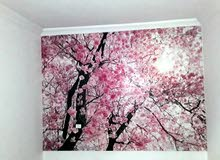 فني تركيب ورق حائط 3D و عادي ارجو الاتصال ع الرقم 0921456670