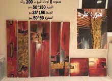 مجموعة لوحات