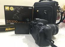 كاميرا نيكون D5300 بحالة الجديد