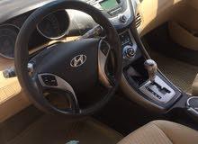 White Hyundai Elantra 2013 for sale