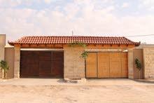 مزرعه للإيجار طريق البحر الميت مع مبيت او بدون