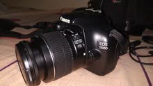 Canon 1100d with 18-55mm lens. full fresh condition