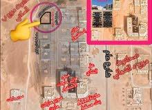 ارض تجارية ركنية صحنوت المربع الذهبي مربع ب عند مكينة بنك مسقط صحنوت والاسواق