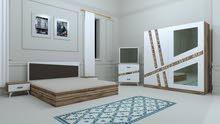 غرف نوم تركي 5 قطع السعر 650 الف
