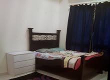 غرفه للايجار داخل شقه غرفتين وصاله . شامل مفروش لفرد واحد، حمام خاص,  بجوار رامز