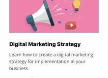 دورة استراتيجيه التسويق والتحويل الرقمي من جامعة إدينبرغ