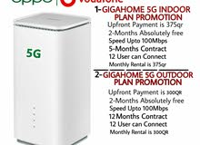 5G gigahome Unlimited plan
