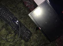 شاشة كمبيوتر LG مع كيبورد و ماوس للبيع بسعر حرق