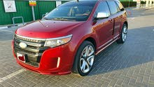 Ford Edge 2013  Sport Edition 3.5L V6 AWD GCC  Red Colour