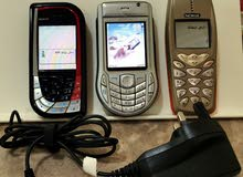 Three Nokia Classic Mobiles