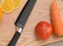 طقم سكاكين سيراميك 6قطع سهله الاستخدام