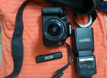 كاميرا كانون 600d استعمال خفيف