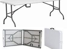"""مطلوب شراء طاولة """"فايبر/بلاستيك"""" قابلة لطي كما بالصورة"""