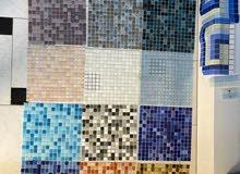Mosaic for all decorations بلاط الموزاييك للديكور