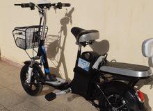 دراجه كهربا اي واحد صامل يوجد فديو