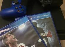 Playstation 4 Slilm مستعمل 3 شهور