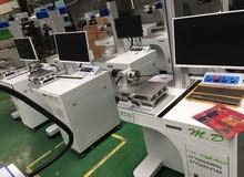 جهاز فايبر ليزر fiber leaser للبيع شركة المودة cnc