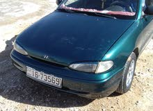 Green Hyundai Accent 1996 for sale