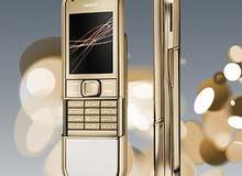 للبيع جوال نوكيا الملك موديل 8800 الفولاذي المطلي بالذهب