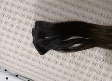 اكستنشن شعر طبيعي