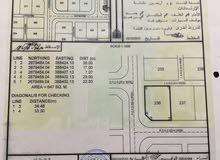 أرض بموقع رائع بقرب جامعة البريمي
